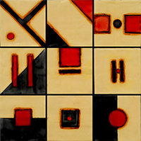 Geometrics at Holly Hill Inn Gallery